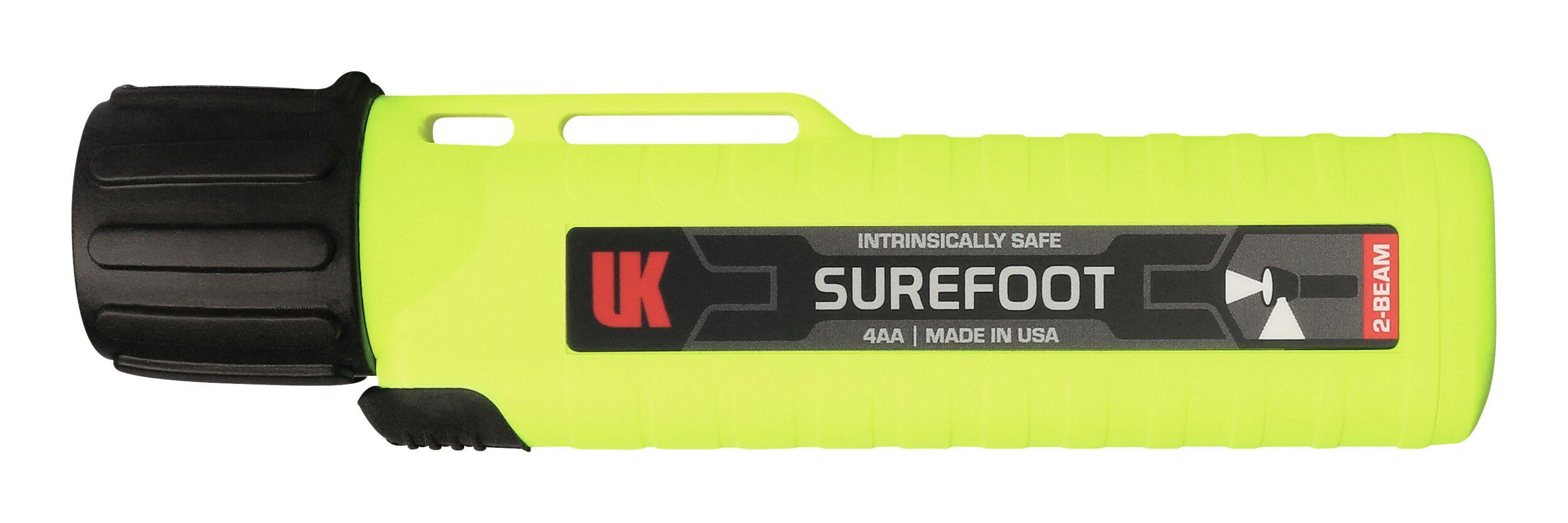 Helmlampe eLED Surefoot UK 4AA