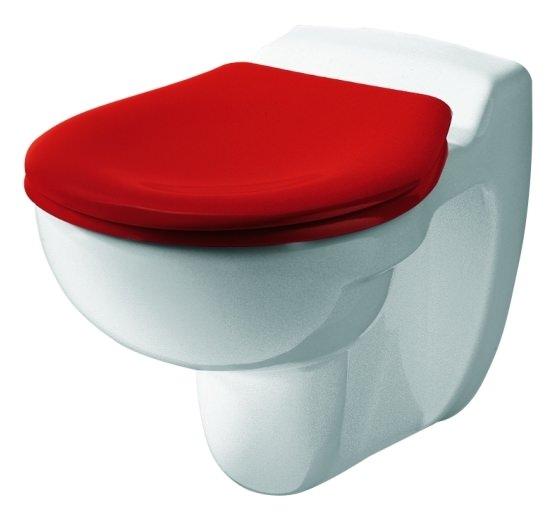 keramag kind wc sitz mit deckel rot 573337000. Black Bedroom Furniture Sets. Home Design Ideas