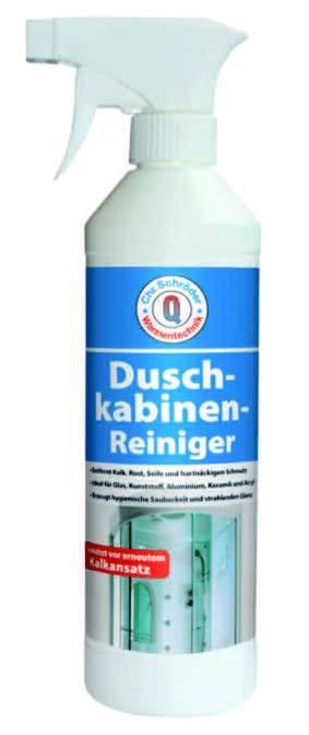 Schröder Wannentechnik Chr. Schröder Duschkabinenreiniger 500ml Sprühflasche - H160470999