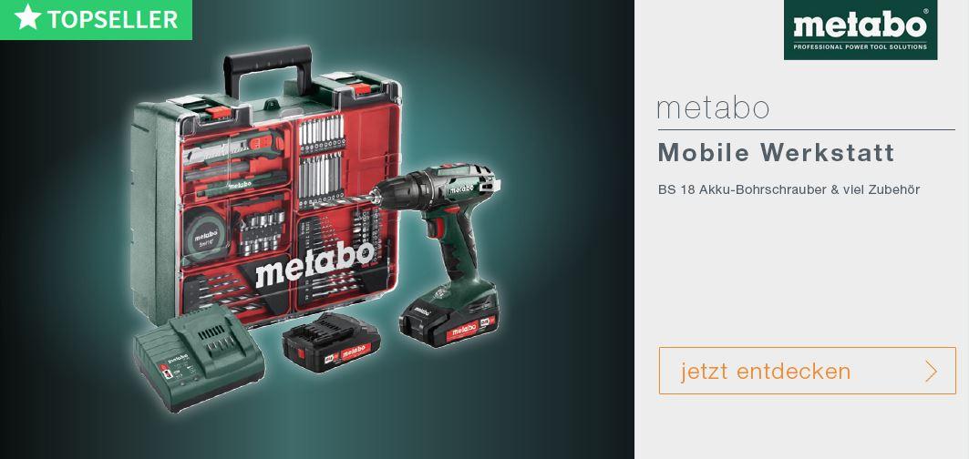 Metabo mobile Werkstatt