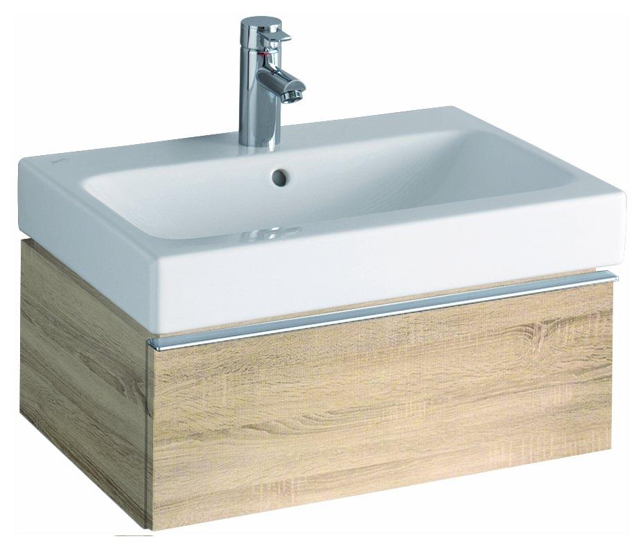 keramag icon waschtischunterschrank 595x240x477mm holzstruktur eiche natur 841262000. Black Bedroom Furniture Sets. Home Design Ideas