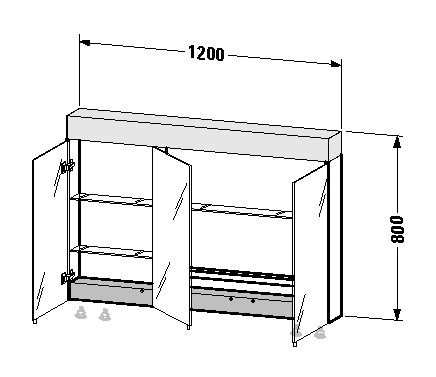 spiegelschrank kunststoff preisvergleiche erfahrungsberichte und kauf bei nextag. Black Bedroom Furniture Sets. Home Design Ideas