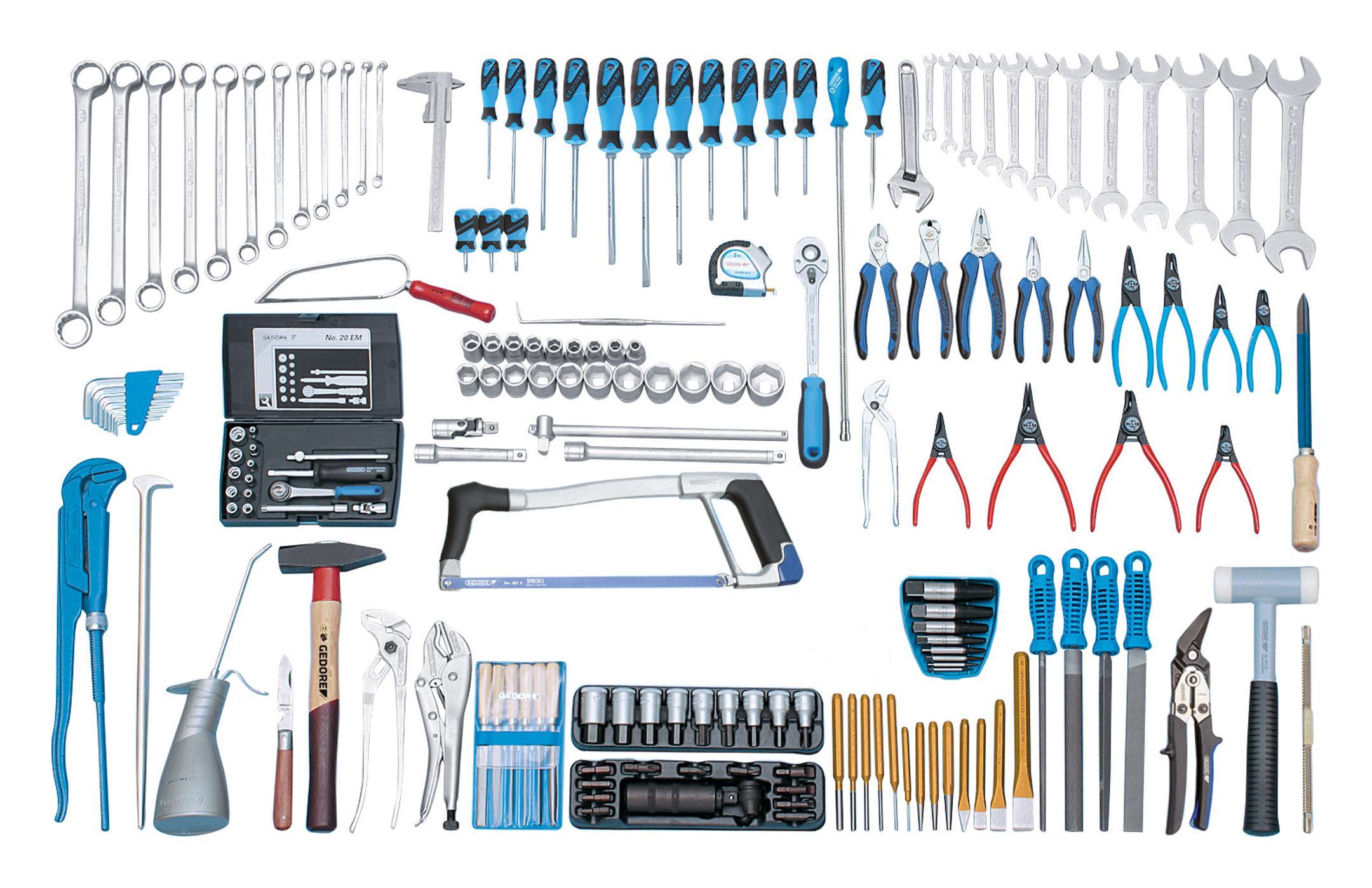 Gedore Werkzeugsortiment Mechaniker 180tlg. - 6601080
