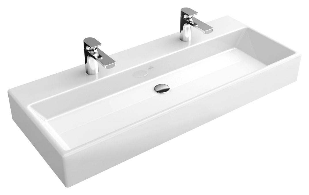 Villeroy boch memento waschtisch 1200 x 470 mm mit 2 - Duschkabine villeroy boch ...