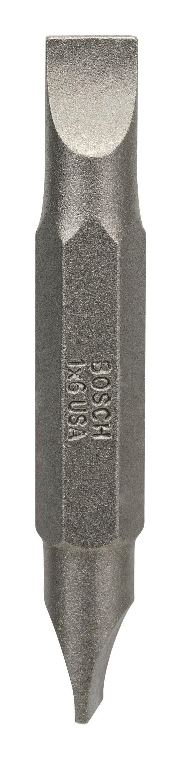Bosch Zubehör Doppelklingenbit S1, 0 x 6, S1, 0 x 6, 45 mm 2607001737 (VPE: 10 Stück)