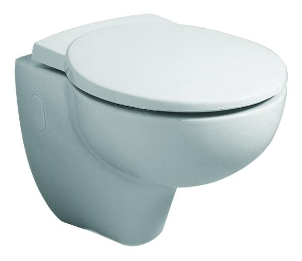 keramag joly wc sitz mit deckel wei alpin 571005000. Black Bedroom Furniture Sets. Home Design Ideas