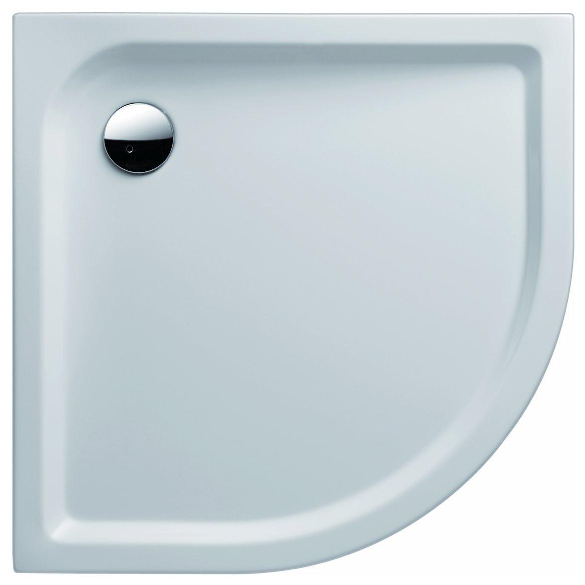 keramag icon rundduschwanne 900mm x 900mm wei alpin. Black Bedroom Furniture Sets. Home Design Ideas