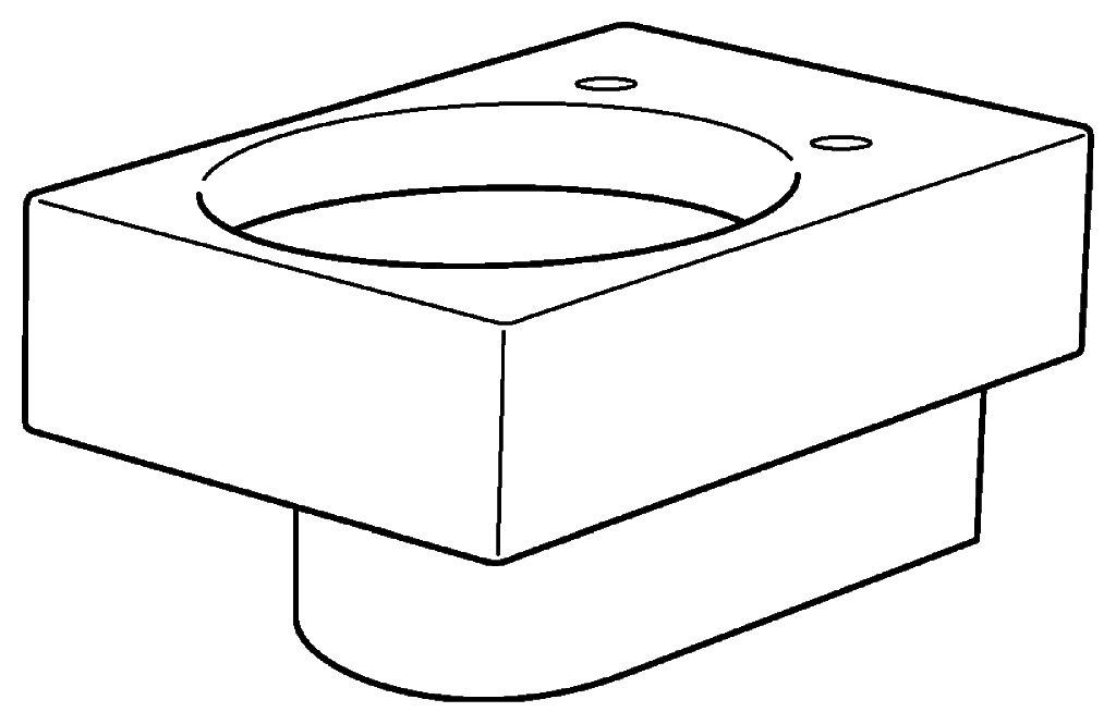 keramag preciosa ii tiefsp l wc wandh ngend 203200 530mm. Black Bedroom Furniture Sets. Home Design Ideas