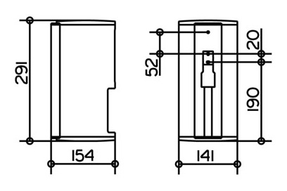 keuco plan mehrfach toilettenpapierhalter f r 2 rollen 100 mm edelstahl finish 14969070000. Black Bedroom Furniture Sets. Home Design Ideas