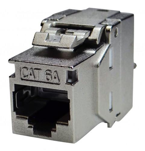 HAXHSE-G0401-C024 HomeWay Zentralplatte Modular-Jack//TAE weiß glänzend..