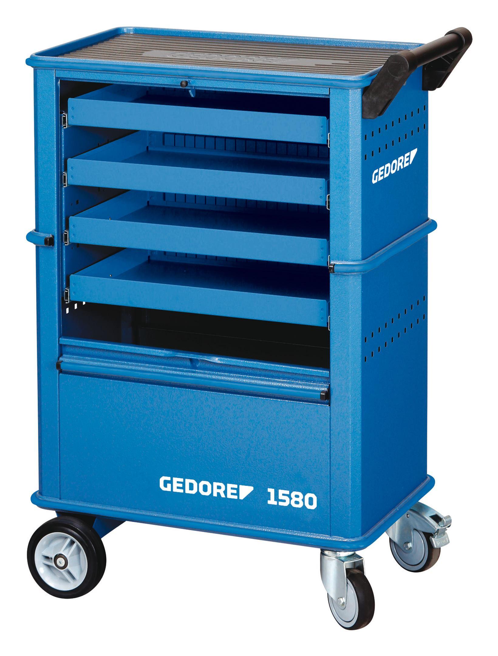Werkzeugwagen 1580 625 x 400 x 930mm 4SL - 6627550