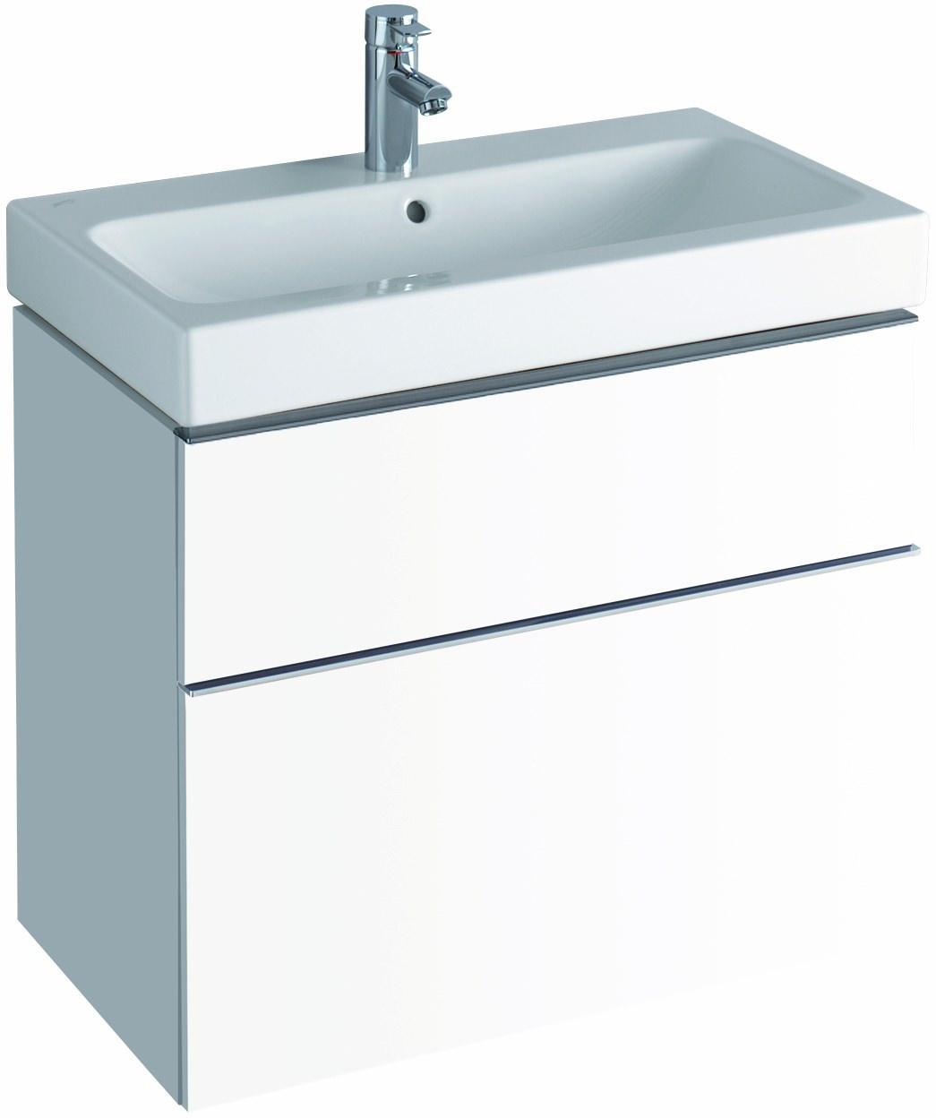 keramag icon schubladenfront wei zu waschtischunterschrank 840375 598847000. Black Bedroom Furniture Sets. Home Design Ideas