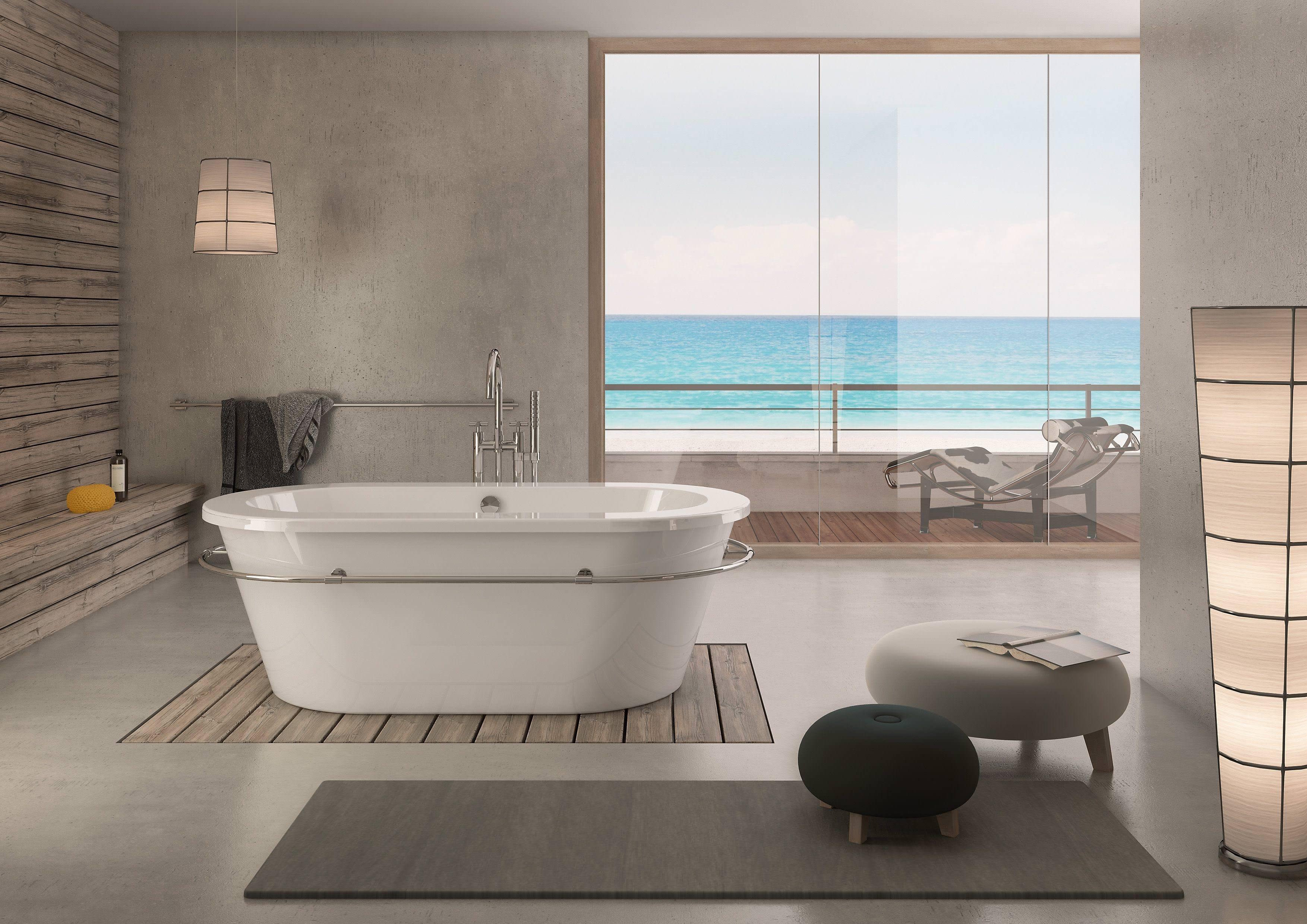 hoesch philippe starck 1 freistehende ovalbadewanne 1800 x. Black Bedroom Furniture Sets. Home Design Ideas