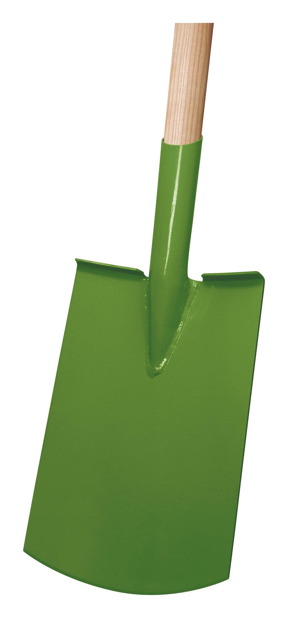 Idealspaten Ideal Damenspaten Rohrdüll grün lackiert - 27300220