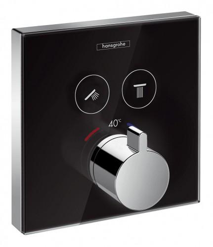 Hansgrohe Showerselect Glas Thermostat Unterputz Fur 2 Verbraucher