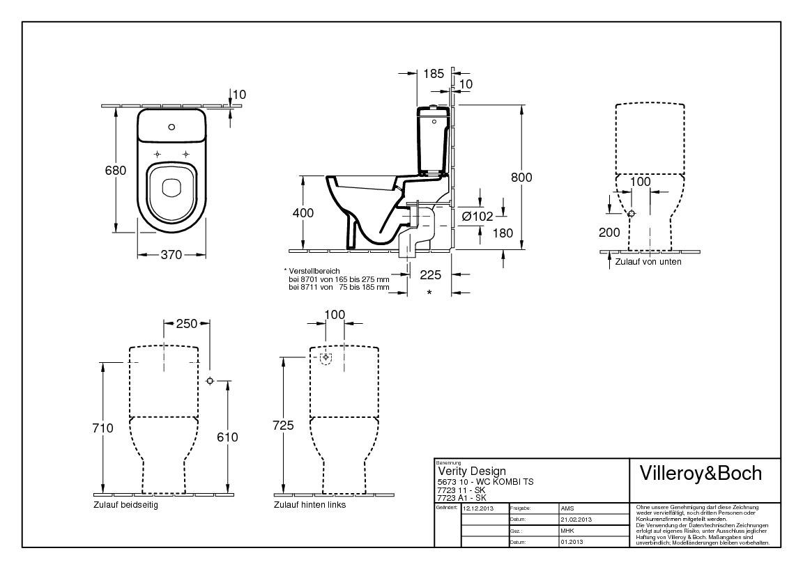 villeroy boch subway sp lkasten wei alpin ceramicplus f r wcs urinale zubeh r. Black Bedroom Furniture Sets. Home Design Ideas