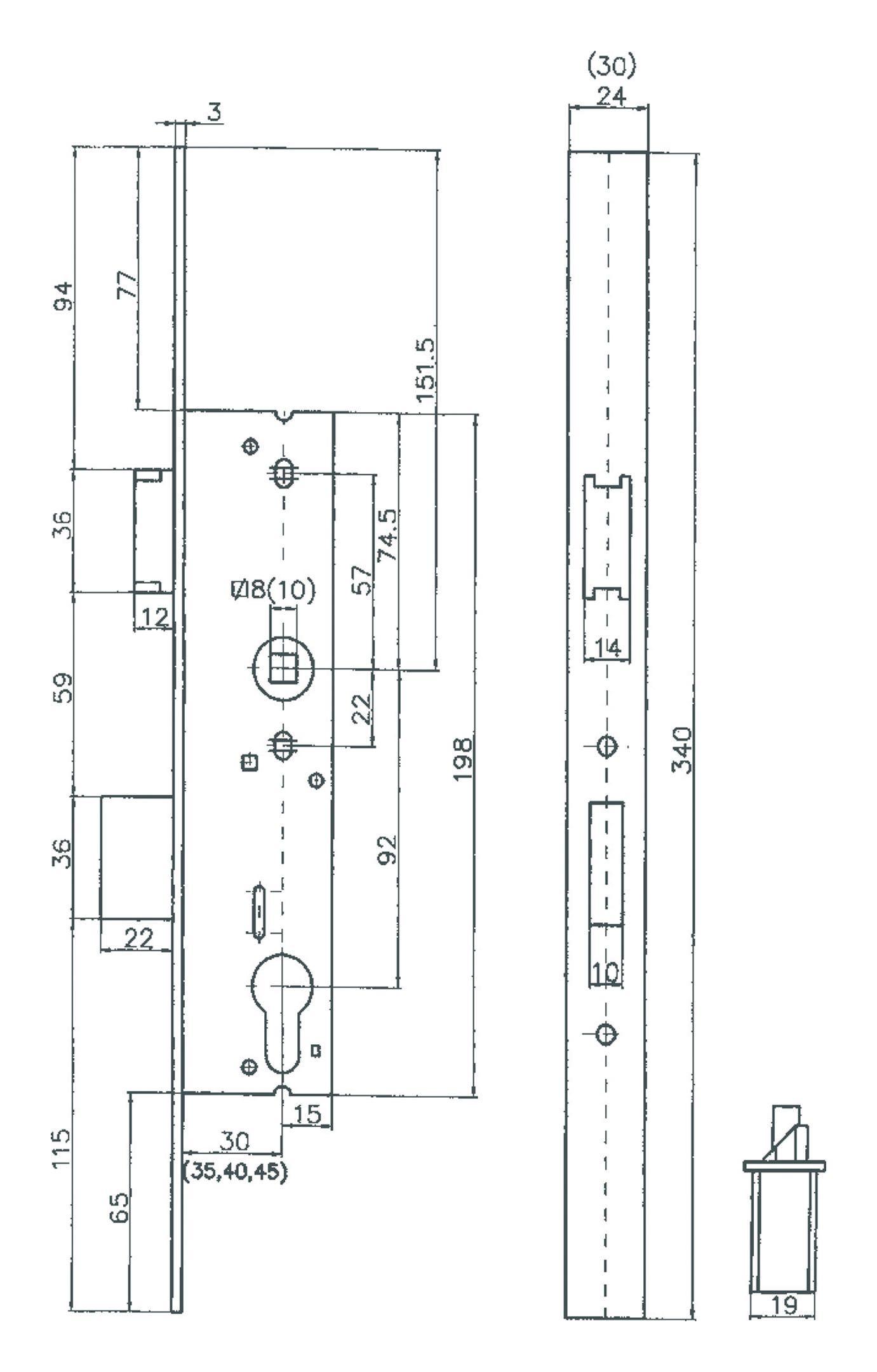 bever klophaus rohrrahmenschloss r f r. Black Bedroom Furniture Sets. Home Design Ideas