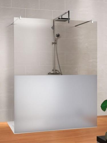 Schulte 2014 Duschkabine Milieufoto MasterClass-Free-1-Walk-in-mit-gerader-Scheibe-freistehend-Dekor-Dezent-unten
