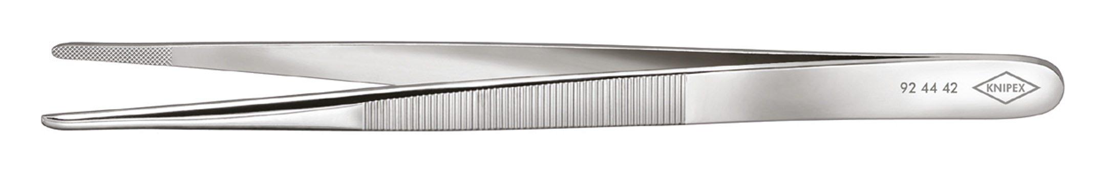 Juwelierpinzette 140mm runde Spitze - 92 44 42