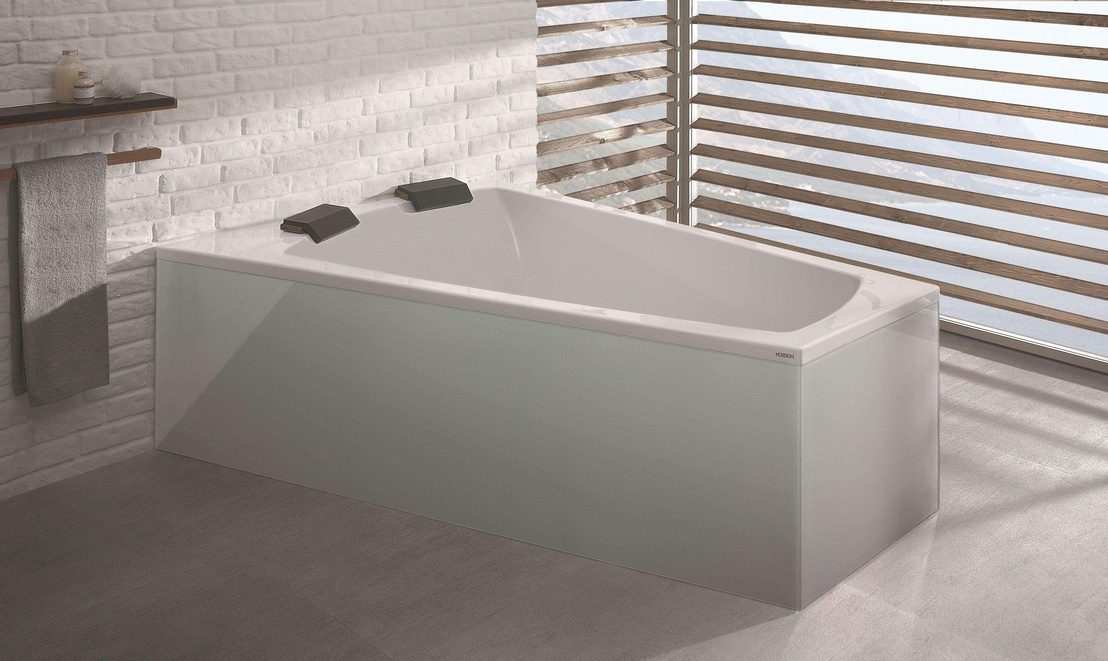hoesch largo trapezbadewanne 1800 x 1400 mm links wei. Black Bedroom Furniture Sets. Home Design Ideas