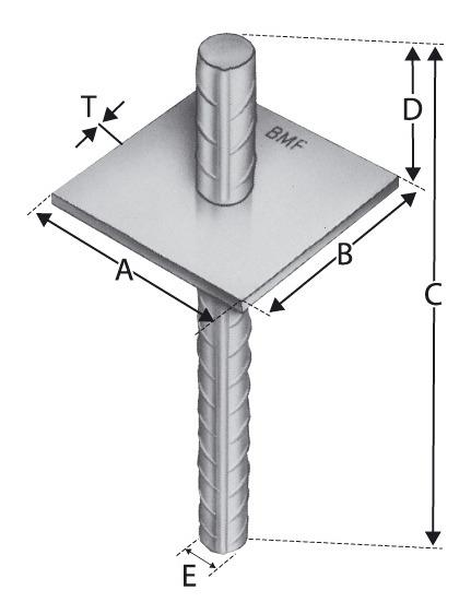 Pfostenhalter PA90G - PA90G (VPE: 20 Stück)