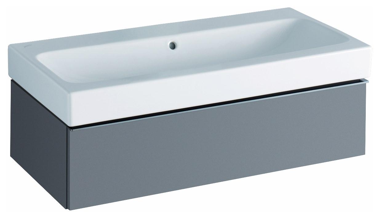 keramag icon waschtisch 900mm x 485mm ohne hahnloch mit. Black Bedroom Furniture Sets. Home Design Ideas
