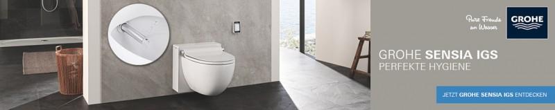 Grohe Sensia IGS Dusch-WC
