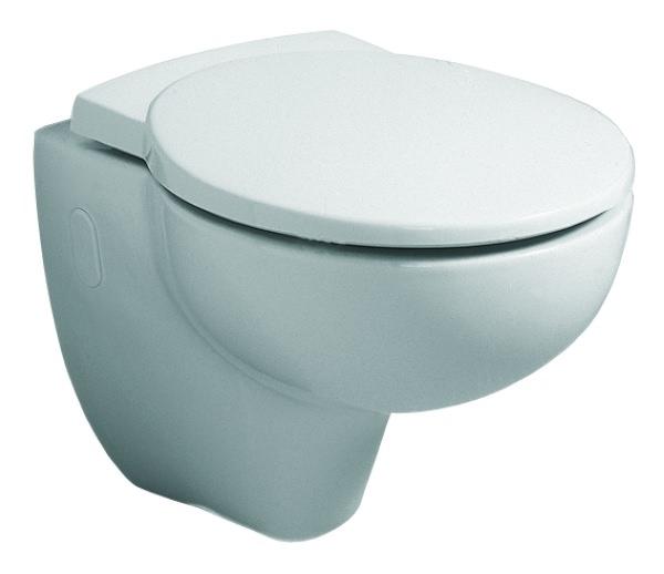 keramag joly wc sitz mit deckel wei alpin 571010000. Black Bedroom Furniture Sets. Home Design Ideas