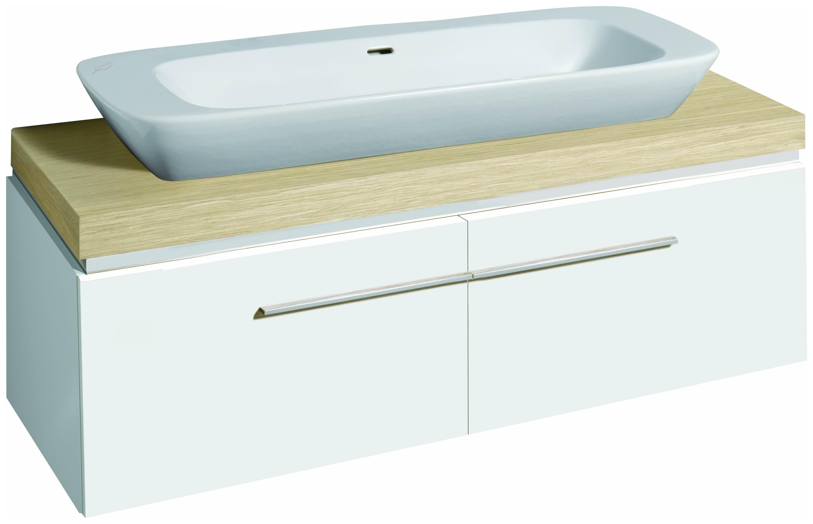 keramag silk waschtischunterschrank 816042 1400x400x470mm wei hochglanz y816042000. Black Bedroom Furniture Sets. Home Design Ideas