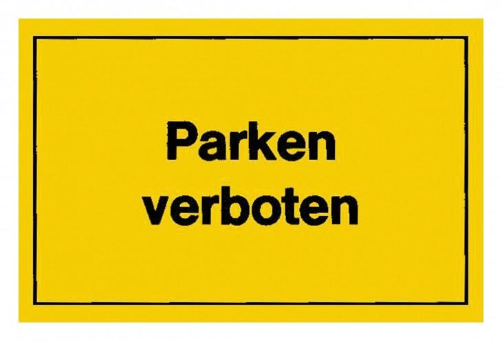 Werkstatt 2017 Foto Verbotsschilder-Parken-verboten