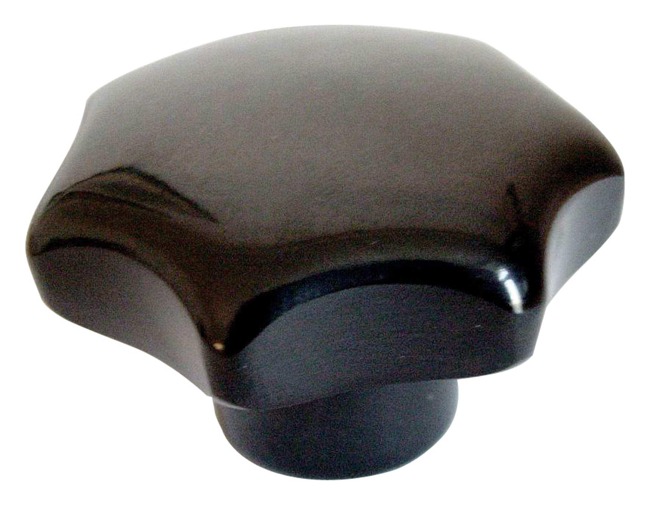 Sterngriff DIN 6336 K Ø40 M8 Duroplast Messing