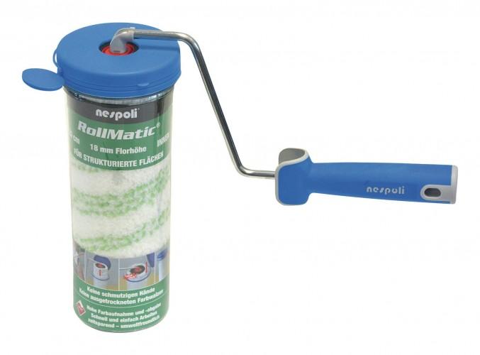 Werkstatt 2019 Freisteller Farbwalze-Buegel-Rollmatic-25cm-FH18mm