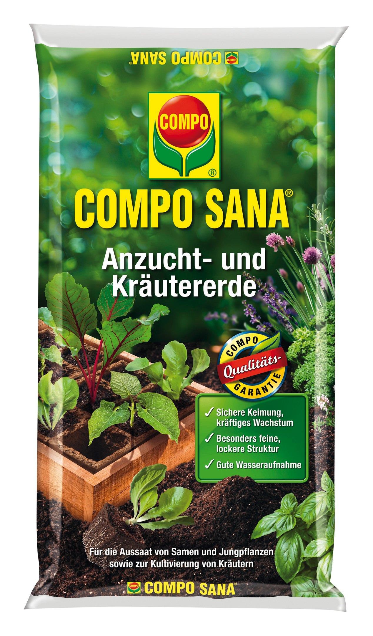 Compo Sana Anzucht- und Kräutererde 20 l - 1062804004