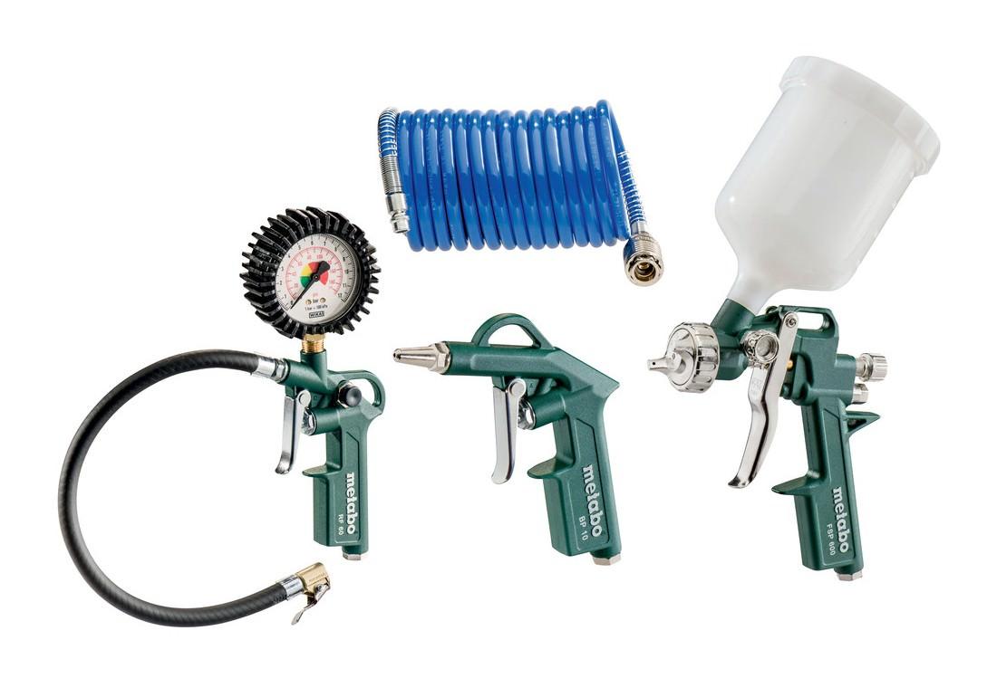 Metabo LPZ 4 Set Druckluft-Werkzeugset - 601585000