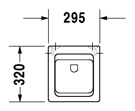 duravit vero urinal 295 x 320 mm mit zulauf von hinten. Black Bedroom Furniture Sets. Home Design Ideas