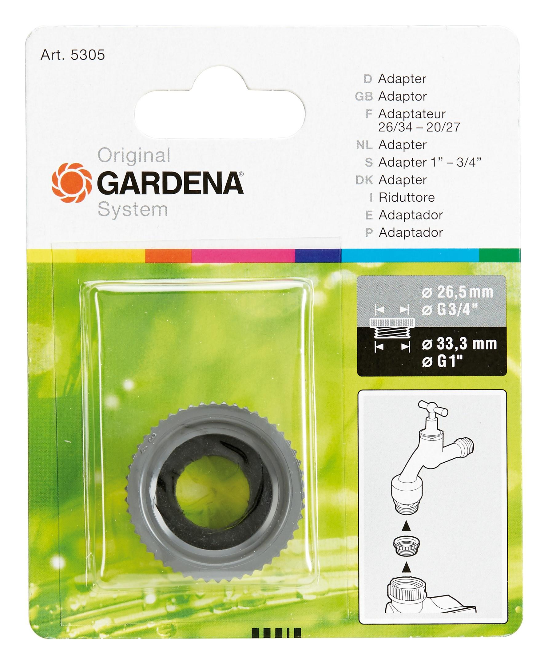 """Gardena Hahnstück 3//4/"""" IG oder 1/"""" IG 2902 901"""