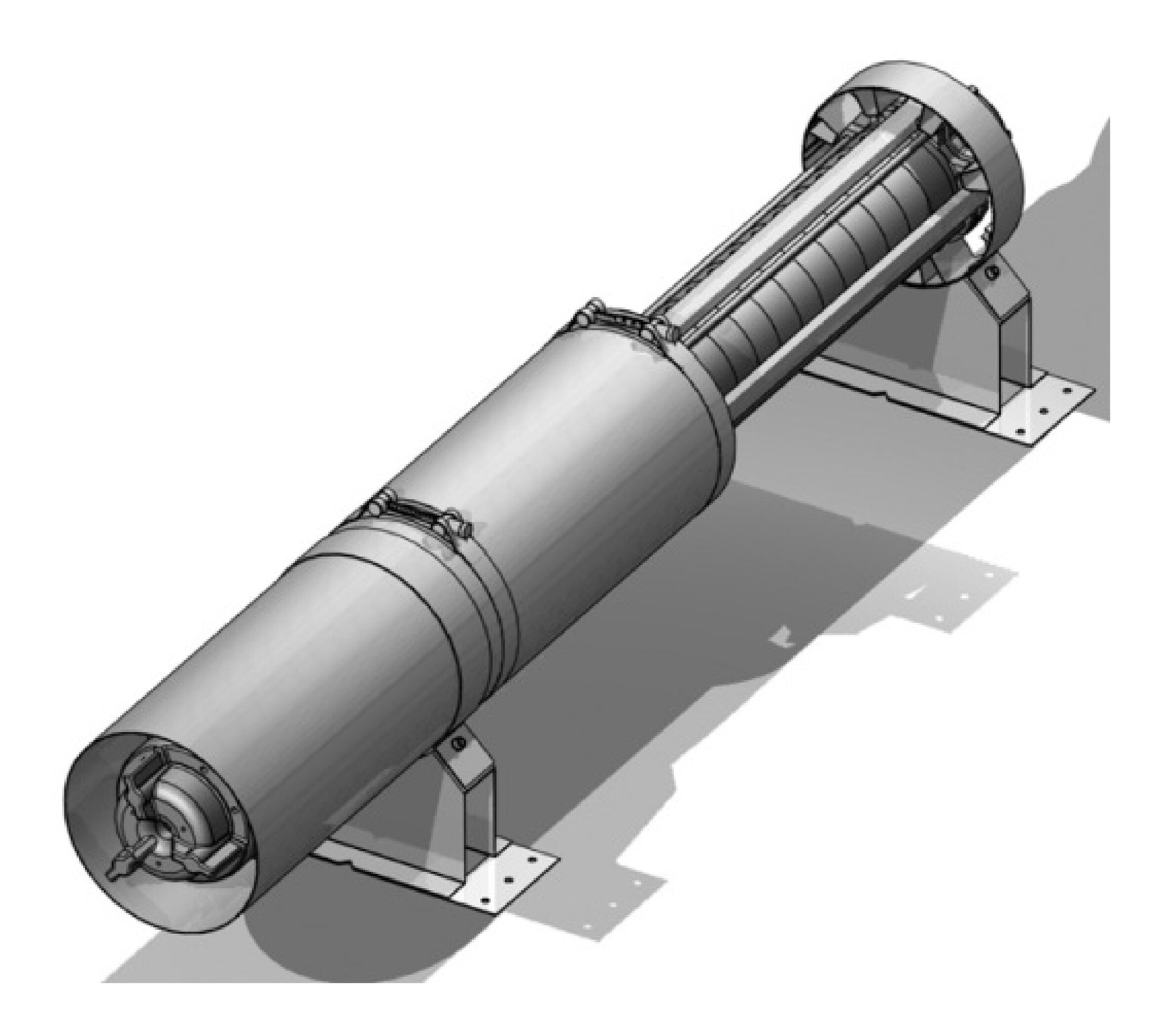 """Kühlmantelrohr für 6"""" Unterwasser-Motorpumpen - 6042350"""