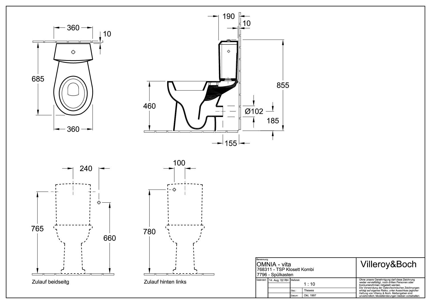 villeroy boch omnia classic sp lkasten wei alpin 77961101. Black Bedroom Furniture Sets. Home Design Ideas