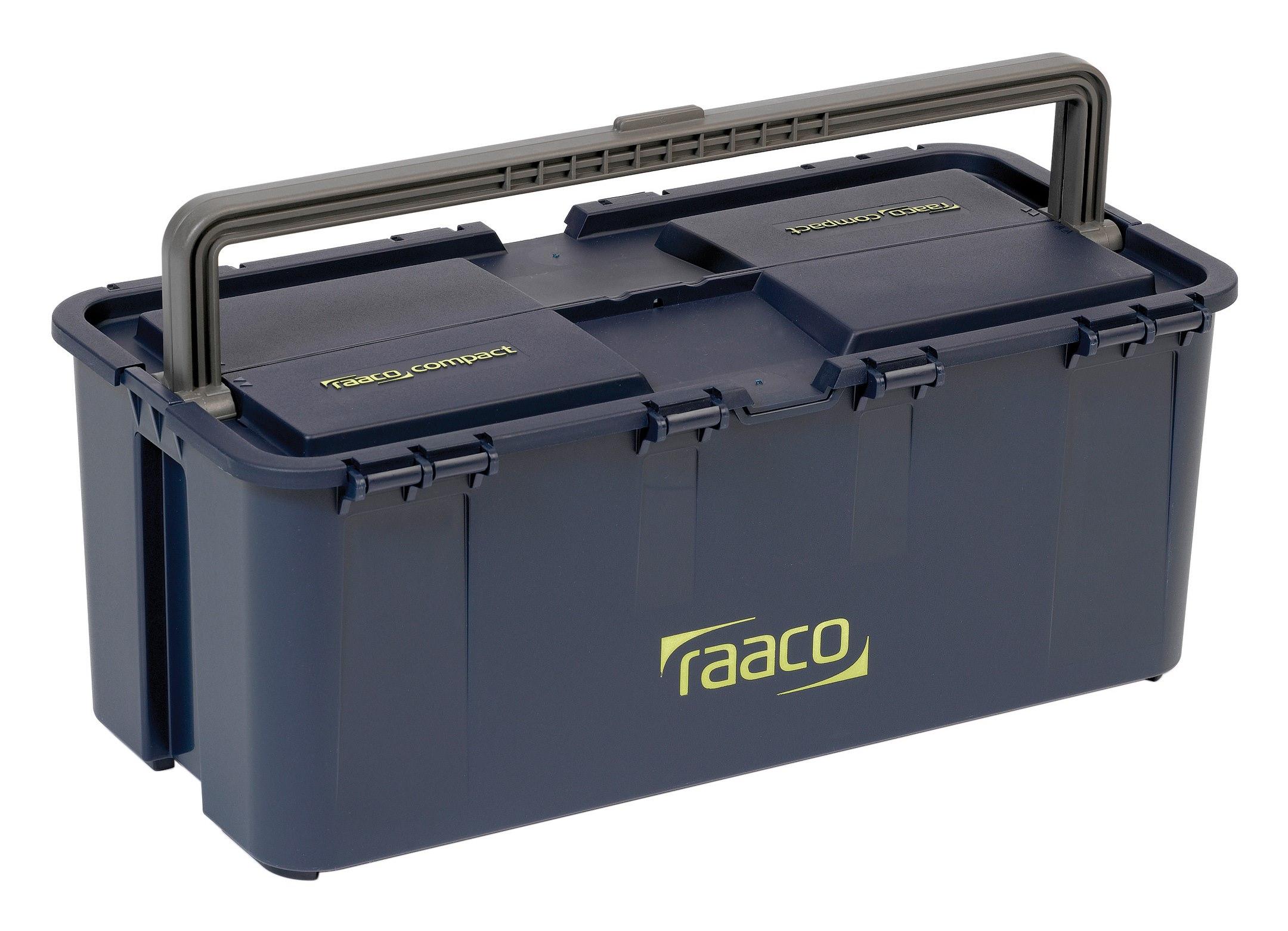 Werkzeugkoffer Compact 20 raaco blau - 136570