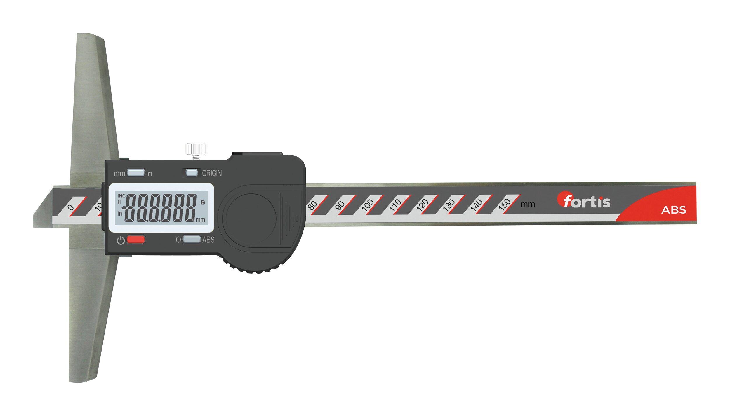 Fortis Tiefenmesschieber 150/0,01mm