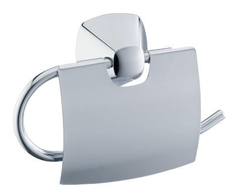 keuco city 2 toilettenpapierhalter mit deckel verchromt 02760010000. Black Bedroom Furniture Sets. Home Design Ideas