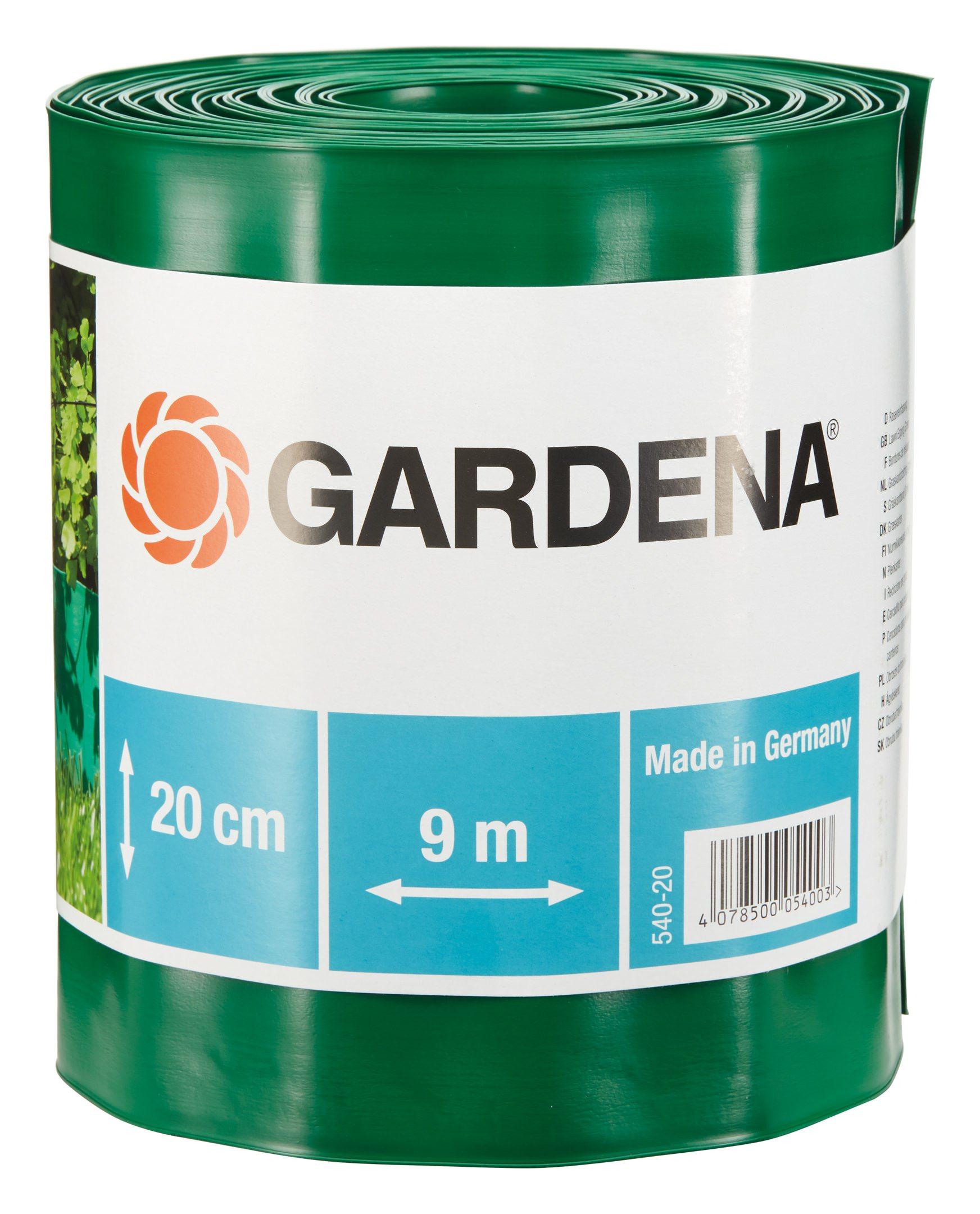 Raseneinfassung, Gardena, »Rolle 20 cm hoch, 9 m lang grün«