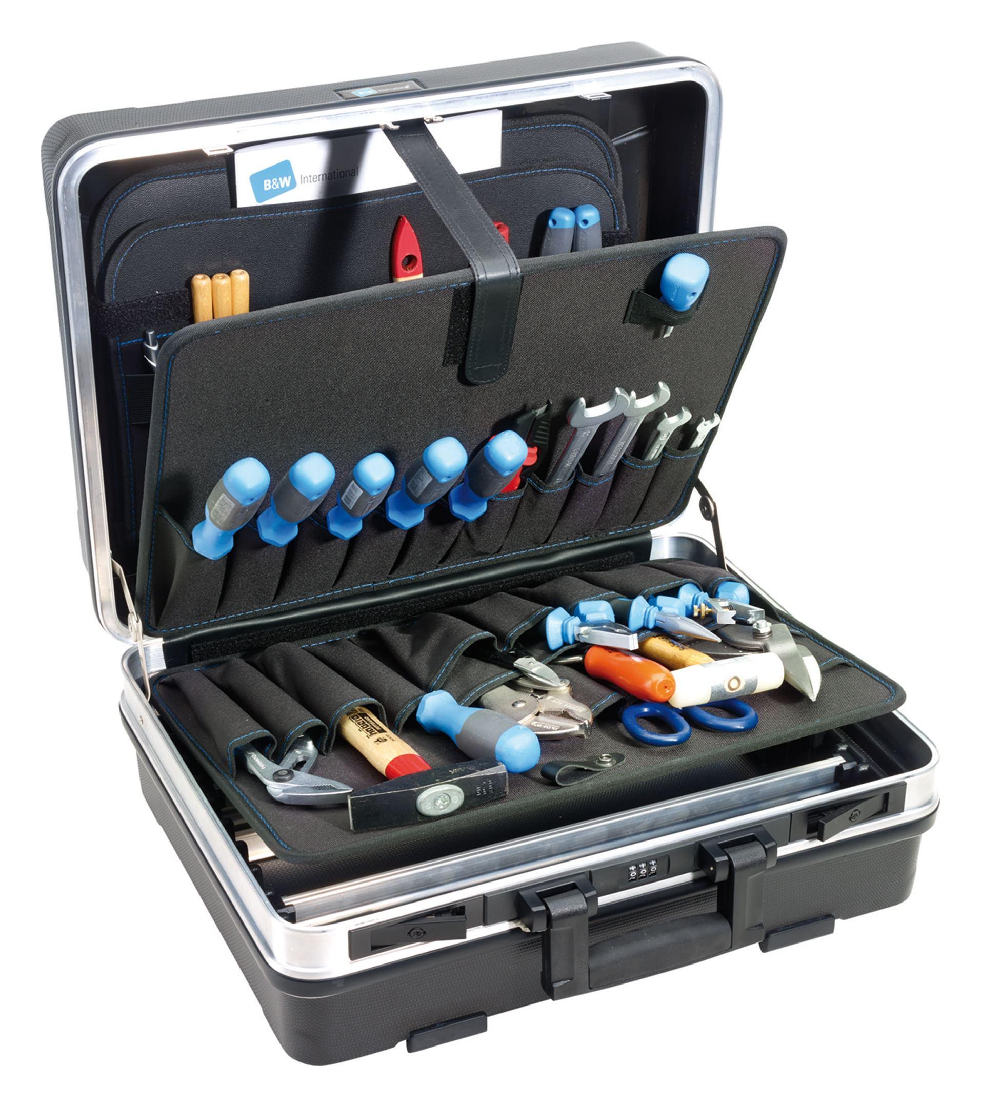 B & W Werkzeugkoffer flex 470 x 190 x 370mm - 120.03/P