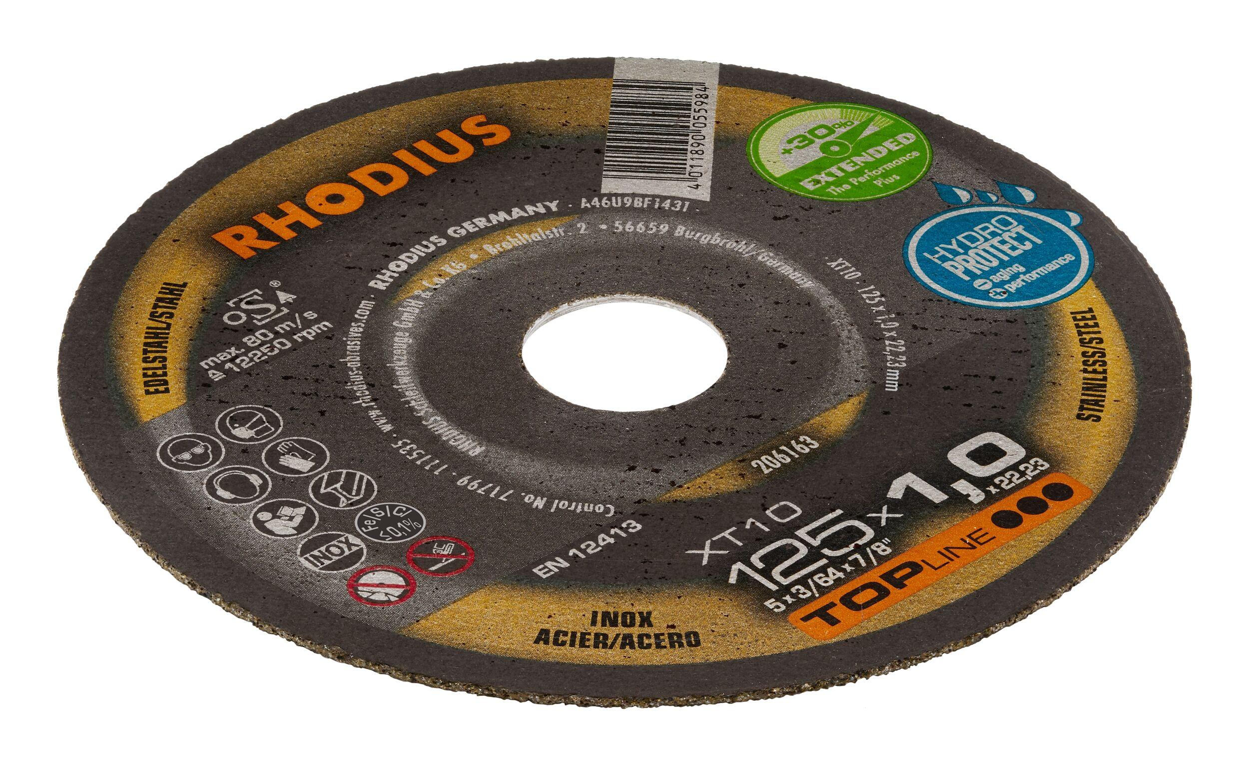 RHODIUS Minitrennscheibe 30 x 0,8 x 6 mm gerade