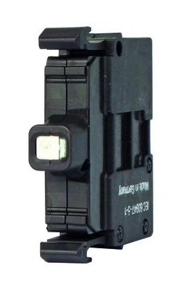 M22-DL-W Moeller Drucktaster Front 1fach weiß Beleuchtbar Ø22,5mm rund 22x6mm..