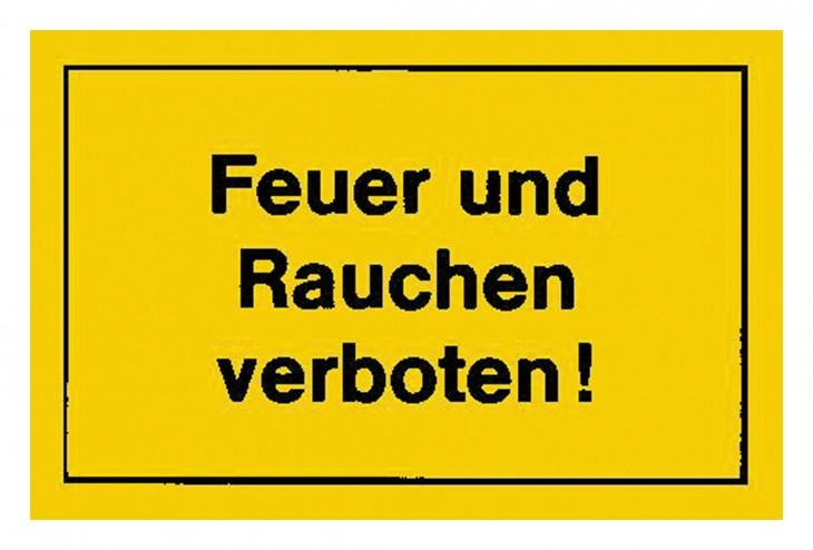 Werkstatt 2017 Foto Verbotsschilder-Feuer-Rauchen-verbot