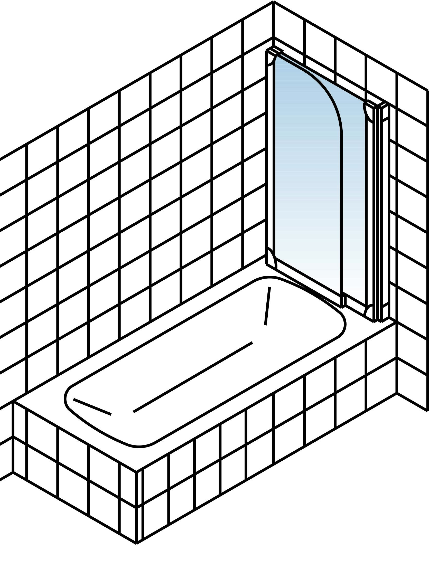 schulte komfort garant badewannenfaltwand 2 teilig klar hell alunatur 1140mm d853 01 50 rechts. Black Bedroom Furniture Sets. Home Design Ideas