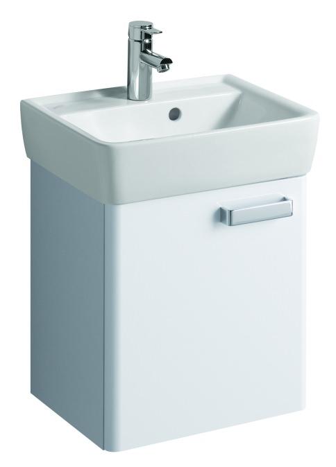 keramag renova nr 1 plan handwaschbecken unterschrank 410x463x340mm korpus wei front wei. Black Bedroom Furniture Sets. Home Design Ideas