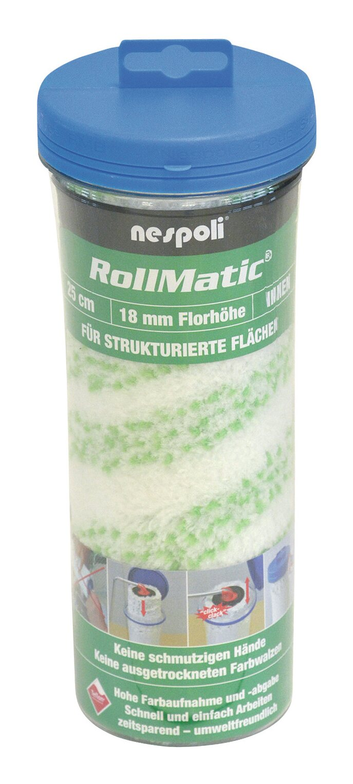 Farbwalze Rollmatic 25cm FH18mm - 525610225 800