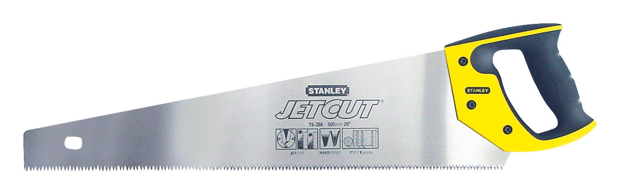 Stanley Säge Jetcut 2-15-288 Handsäge grob 500mm 7 Zähne pro Inch JetCut